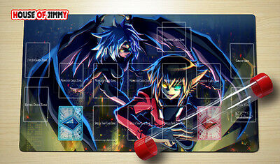 Yugioh Playmat Custom Made Play Mat Large Mouse Pad FREE TUBE C052