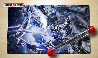 Yugioh Playmat Custom Made Play Mat Large Mouse Pad FREE TUBE C046