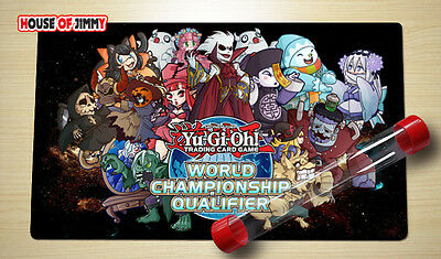 Yugioh Playmat Custom Made Play Mat Large Mouse Pad FREE TUBE C040