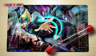 Yugioh Playmat Custom Made Play Mat Large Mouse Pad FREE TUBE C037