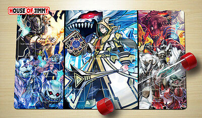 Yugioh Playmat Custom Made Play Mat Large Mouse Pad FREE TUBE C026