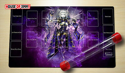 Yugioh Playmat Custom Made Play Mat Large Mouse Pad FREE TUBE C017