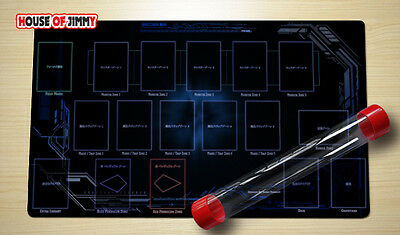 Yugioh Playmat Custom Made Play Mat Large Mouse Pad FREE TUBE C015