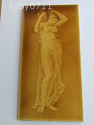 SHERWIN & COTTON PHOTO PORTRAIT TILE BY CARTLIDGE NUDE CLASSICAL MAIDEN(Ref2245)