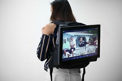 18.5 in huge wearable tablet great for promo and events or instore display
