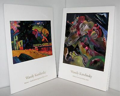 Set of 2 Auction catalogs SOTHEBY'S ~ WASSILY KANDINSKY  21 JUNE 2017, books