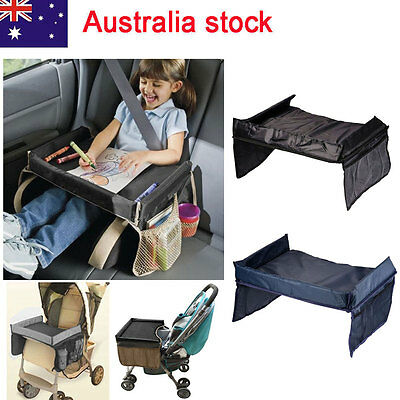 Lap Tray Portable Table Snack N Play for Baby Car Seat Kid Travel Pushchair
