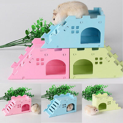 Small Animal Rabbit Ferret Mice Chinchilla Guinea Pig Hamster House Cage Toy