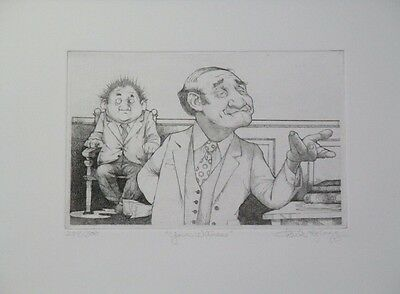 "Amazing Limited Edition Etching Print ""Your Witness"" by Charles Bragg!"