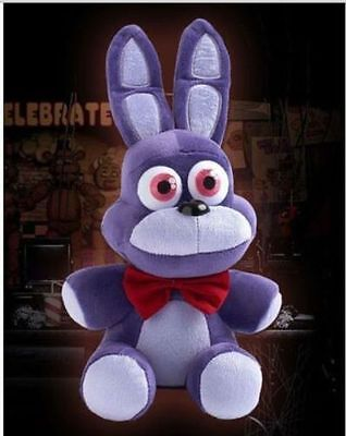 "NEW FNAF Five 5 Nights at Freddy's BONNIE 10"" Plush Doll Toy Xmas gift"