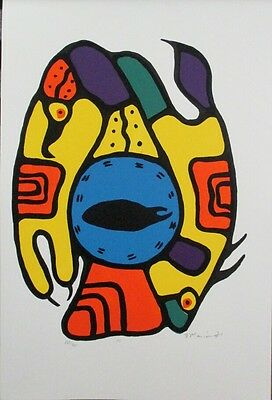 Brilliant Limited Edition Native Lithograph Print by Brian Marion!
