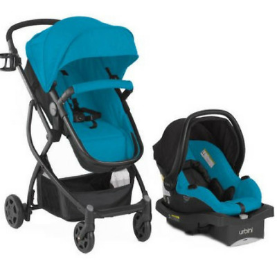 Urbini 4-in-1 Omni Plus Baby Toddler Carriage Travel System Seat Carrier Infant