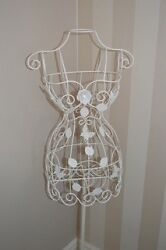 Gisela Graham Metal Filigree Mannequin - Ideal for Bedroom - Friends Gift idea