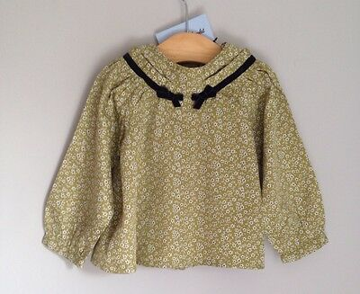 Tartine et Chocolat French Design Baby Blouse Size 12-18 Months BNWT Floral