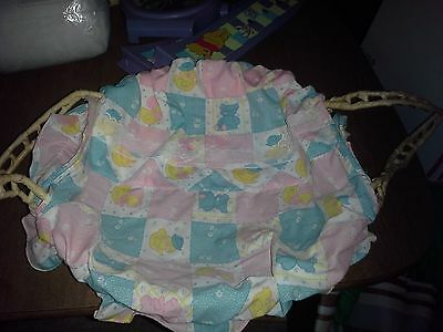 Baby Doll Wicker Carrier