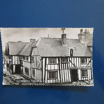 Old Postcard of The Leather Bottle, Cobham, by Gravesend, Kent.