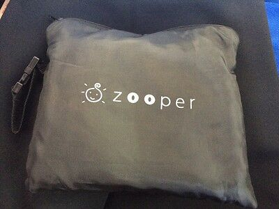 NEW Zooper Stroller Rain Cover & Sun Shade w/ Carrying bag BU801D