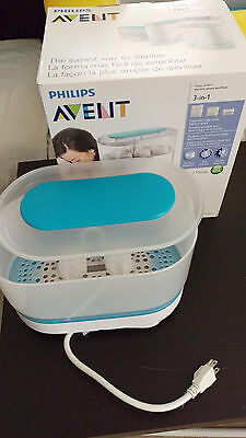 Philips AVENT 3-in-1 Electric Steam Sterilizer - Used