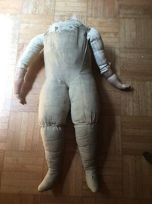 Large Primitive Looking Cloth Body