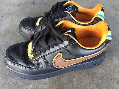629b1112e39 AIR FORCE 1 Low SP RT Ricardo Tisci Sz 5 37.5 Black -  85.00