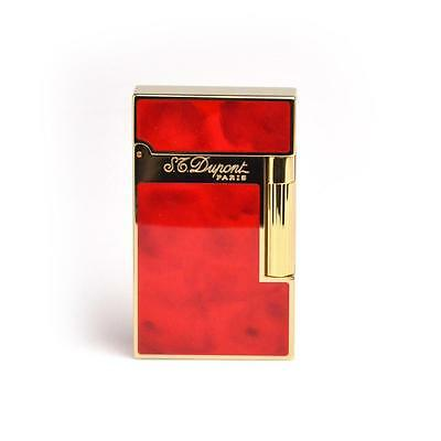 S.t.dupont Ligne 2 Atelier Lacca Rossa Ciliegia Cherry Red Natural Lacquer