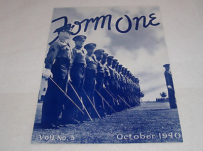 Ww2 Form One Randolph Field Army Air Corps Pamphlet Magazine Book October 1940