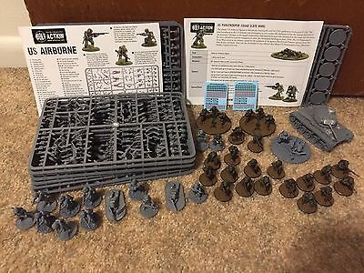 Bolt Action Warlord Games US Airborne Lot