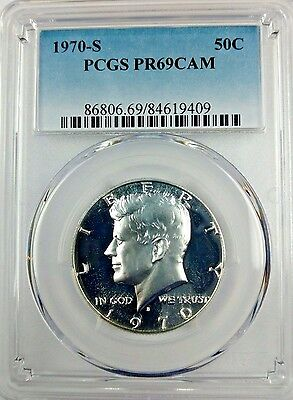 1970-S 50C (Proof) Kennedy Half Dollar PCGS PR69CAM - KEY Date Silver Coin