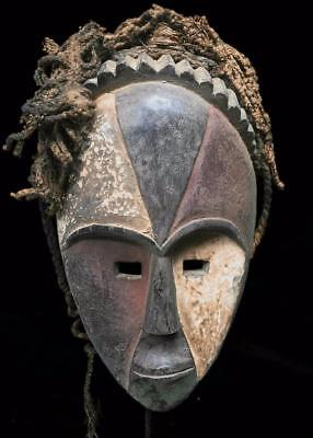 Outstanding  Tribal Galoa  Mask    --- Gabon