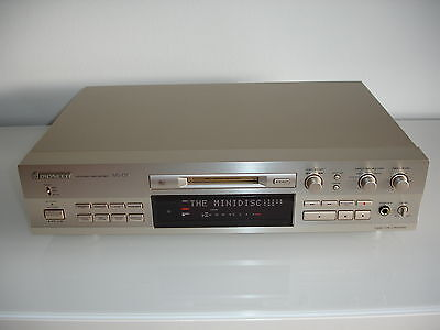 Pioneer MJ-D7 High End Minidisc Recorder Player Japan gold, no urushi, MJ-D707