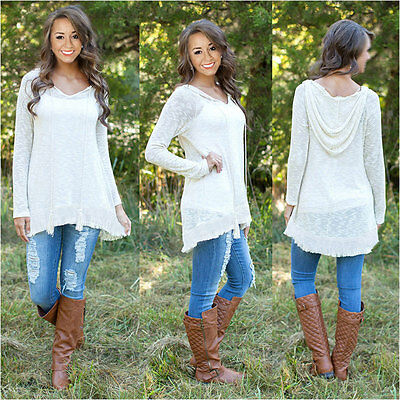 Womens Lady Loose Long Sleeve Casual Blouse Shirt Tops New Fashion Blouse XL ZR8