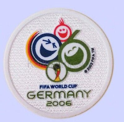 FIFA World Cup GERMANY 2006 Soccer Patch / Flock Football Badge
