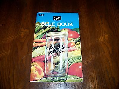 Ball Blue Book Guide To Canning And Freezing, 1974