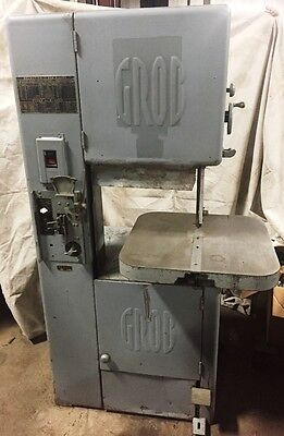 Grob NS18 Vertical Band Saw