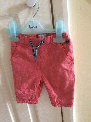 Ted Baker Baby Boy Trousers 0-3 Months
