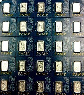 1 gram Pamp Suisse Platinum Bar (in Assay) .9995 Fine - From Breakaway Type ACUT