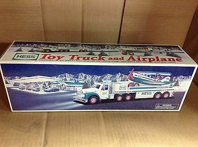 Hess Toy Truck and Airplane 2002