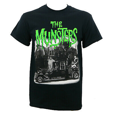Authentic UNIVERSAL THE MUNSTERS Family Coach T-Shirt S-2XL NEW