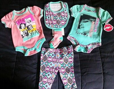 Marilyn Monroe Baby Clothes (5 piece set) 3/6M