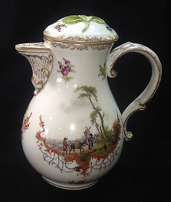 MEISSEN Hand Painted Coffee Pot - Make Offer!