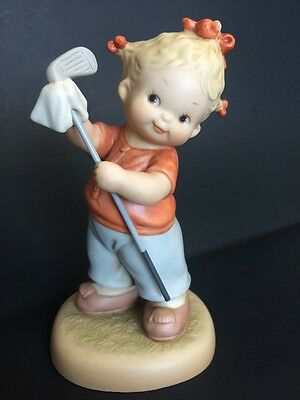 """Memories Of Yesterday """"You Won't Catch Me Being A Golf Widow"""" Lucie Attwell 1992"""