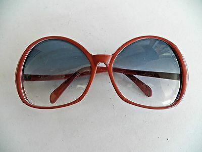 Awesome 1970's Vintage~Auth Givenchy~Couture Designer~Huge Butterfly Sunglasses