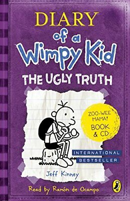 Diary of a Wimpy Kid: The Ugly Truth book & CD by Kinney, Jeff Book The Cheap
