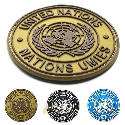 United Nations U.N. Shoulder Patch Tactical Army Military Badge for Uniform Bag