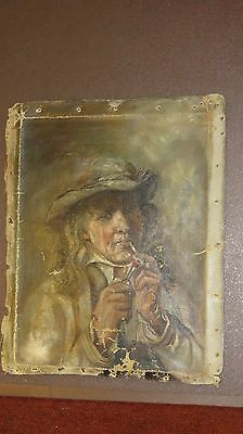 Old Antique Original Oil Painting AMERICAN OIL ON CANVAS