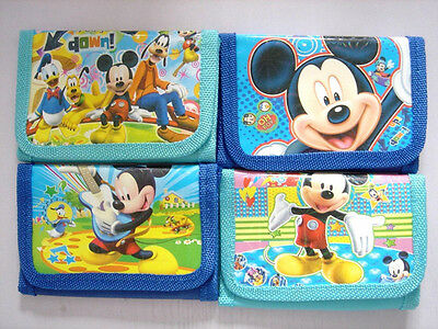NEW Mickey Mouse Kids Boys Child Purse Coins Wallet Party Bag Gift Random