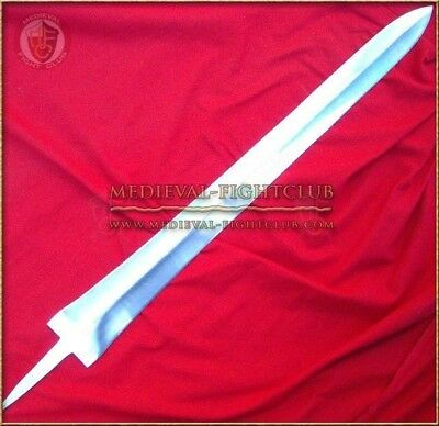 Sword Blade Wide Tapered Blank (Type 8) full tang tempered build DIY 50 rc