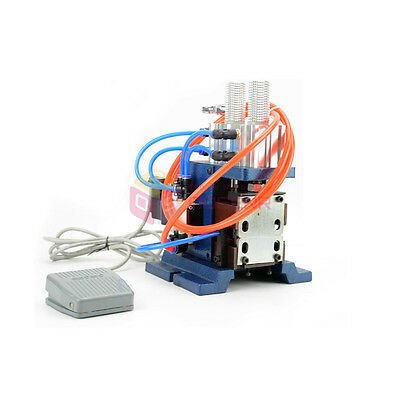 Pneumatic Wire Stripping Peeling Machine Cable Stripper Vertical Wire Stripper