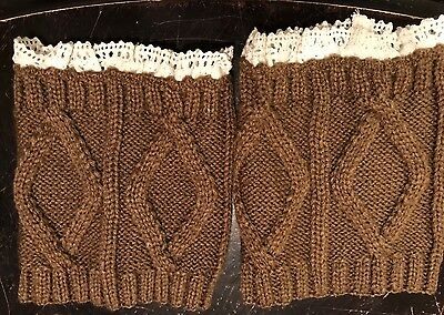 Women's Or Junior's Boot Cuffs With Trim