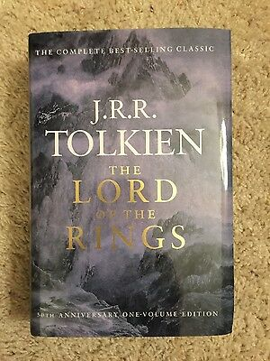 The Lord of the Rings by J.R.R. Tolkien Hardcover Book (English)